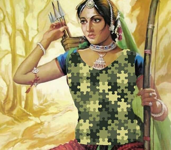 चंदेलों की बेटी थी,गोंडवाने की रानी थी..चण्डी थी रणचण्डी थी, वह दुर्गावती भवानी थी