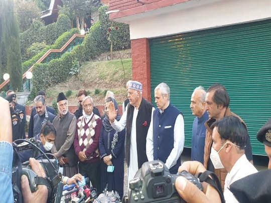 सत्ता की भूखी गुपकार गैंग की घोषणा में कश्मीरी हिंदू क्यों नहीं होते?