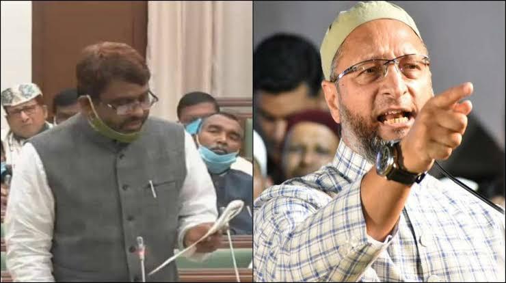ओवैसी के विधायक को हिंदुस्तान शब्द से आपत्ति
