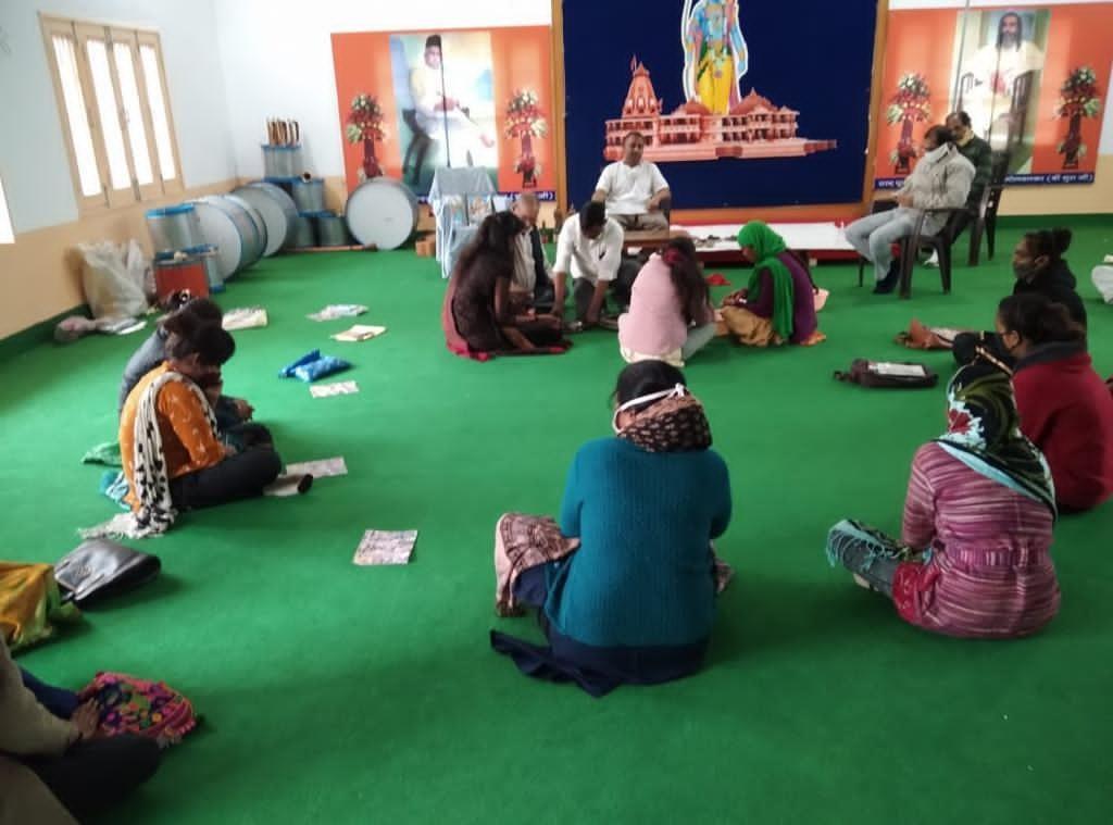 पिछड़ी बस्तियों को स्वावलम्बी बनाने के लिए अनेक कार्यक्रम चला रही सेवा भारती