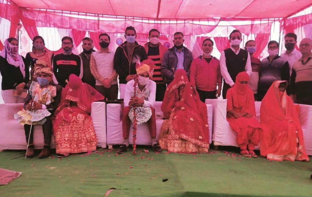 सेवा भारती समिति अनूपगढ़ द्वारा श्रीराम जानकी सामूहिक विवाह सम्पन्न