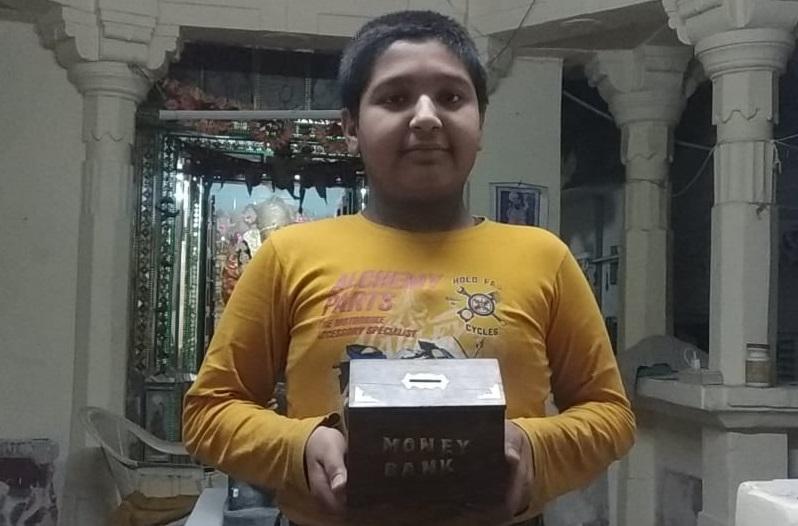 बच्चों में भी भगवान राम के मंदिर के लिए निधि समर्पण की होड़