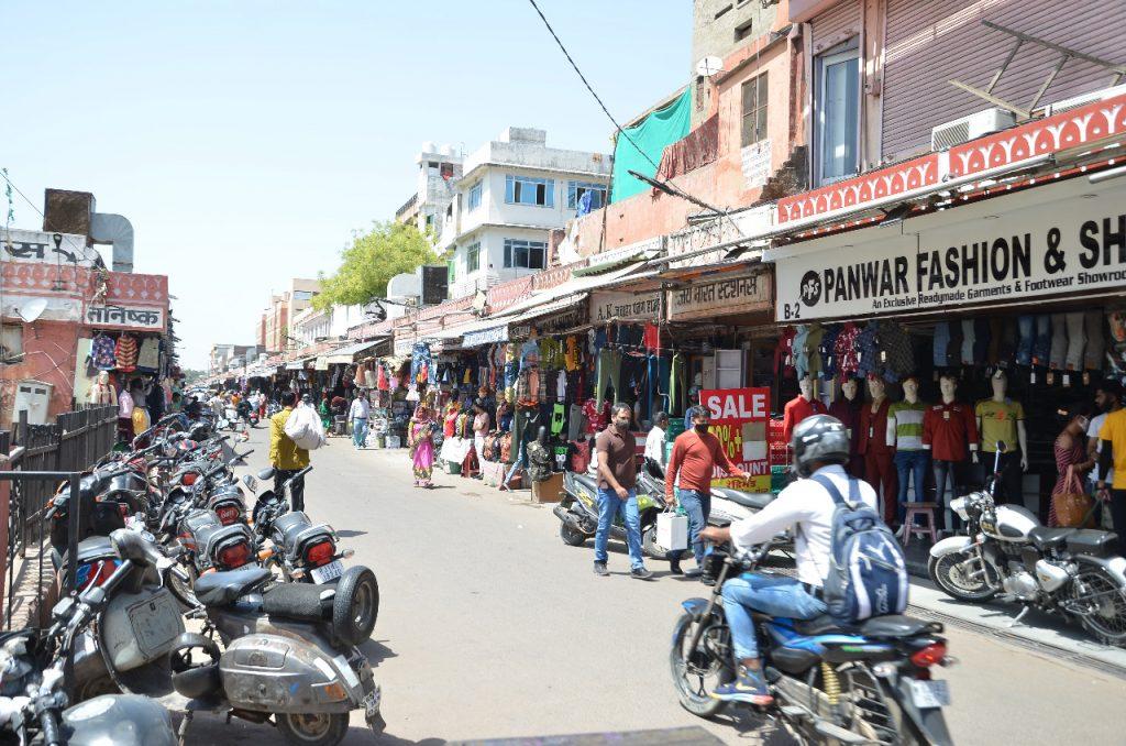 राजस्थान में कृषि कानूनों के विरुद्ध बंद बेअसर, खुले बाजार, हुआ कारोबार