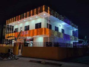 भैरहवा कस्बे में हिन्दू स्वयंसेवक संघ के नवनिर्मित कार्यालय केशवधाम