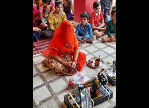 देशनोक में सेवा भारती द्वारा सिलाई केन्द्र प्रारम्भ