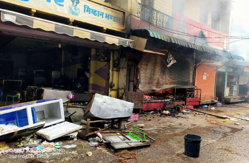 राजस्थान के छबड़ा में मुस्लिम उपद्रवियों ने हिन्दुओं की दर्जनों दुकानों को लूटा और जलाया