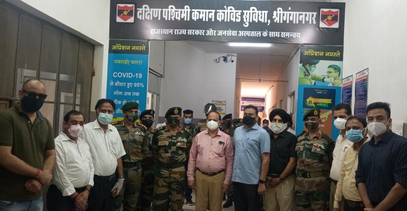 भारतीय सेना चीनी फौज और चीनी वायरस दोनों से लड़ रही है