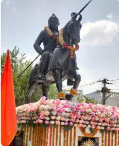 झालावाड़ में गाड़िया लोहार परिवारों ने किया महाराणा प्रताप की प्रतिमा का अनावरण