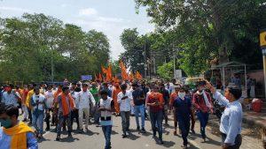 अलवर में मेव मुसलमानों का आतंक, हिन्दुओं ने विरोध स्वरूप निकाला जुलूस