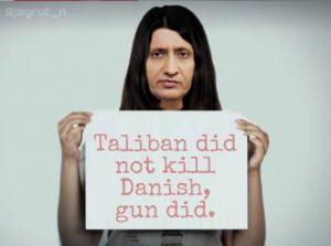 दानिश सिद्दीकी की हत्या पर रविश कुमार का वायरल फोटो