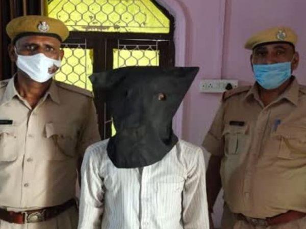 राष्ट्र विरोधी गतिविधियों में लिप्त युवक असरुद्दीन को पुलिस ने तिजारा से किया गिरफ्तार
