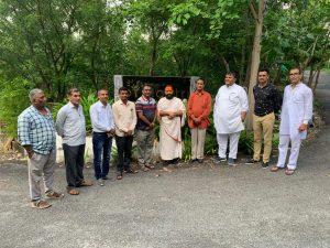 ग्राम विकास गतिविधि का चल प्रशिक्षण व निर्मल ग्राम यात्रा सम्पन्न