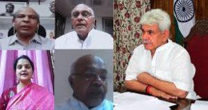 जम्मू कश्मीर की बदलती बयार वहॉं के वाशिंदों को भा रही है - उपराज्यपाल सिन्हा